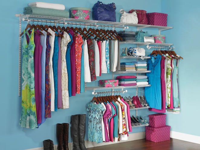 Closet Organizer Kits | HomeFree | Closet Organization | Rubbermaid