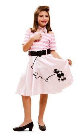 vestidos de los años 60 rock and roll infantil - Buscar con Google ... 91326a8d76e3c
