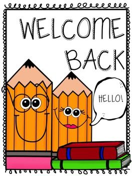 Welcome Back Signs [FREE] | Back to School | Welcome ...