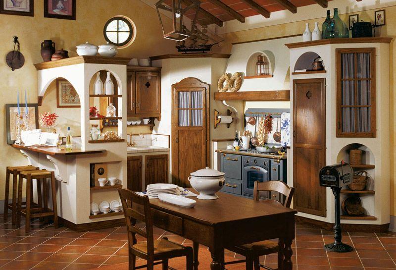 le cucine dei mastri - magione - via della palazzetta | kitchen ... - Cucine Country In Muratura