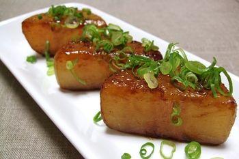 お醤油と蜂蜜の味付けが、大根とよく合います^ ^