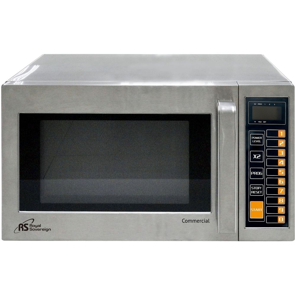 Ft Compact Microwave Stainless Steel Silver