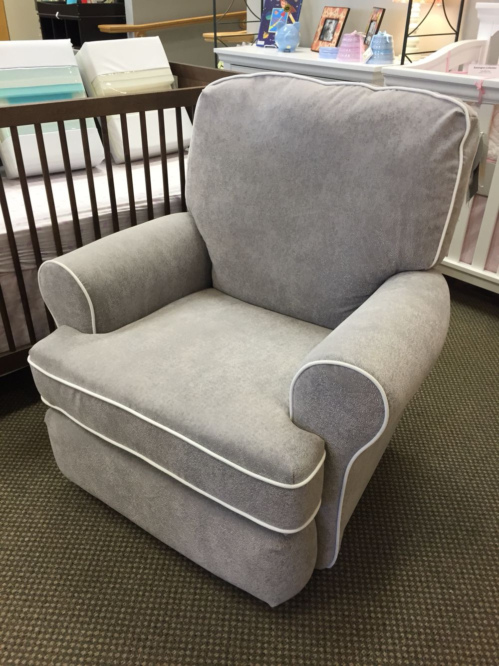 Best Chairs  Tryp Swivel Gilder Recliner with Special