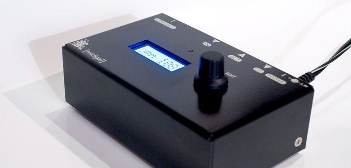 The MIDIpal is a smart and small MIDI processor  Insert it between a