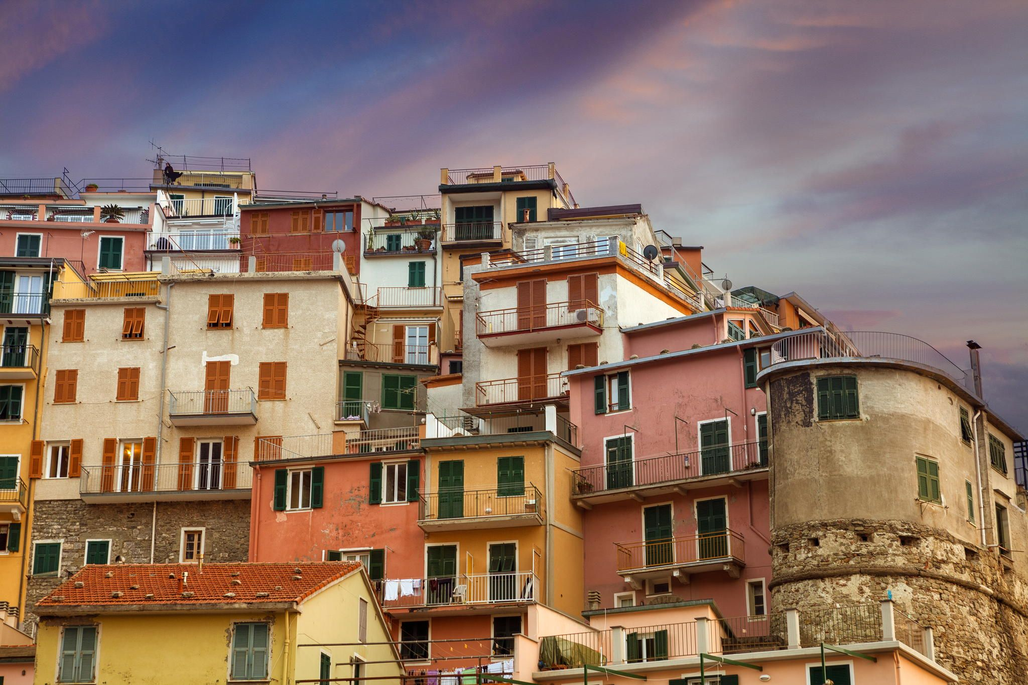 Photograph An Evening in Manarola by peter stewart on 500px