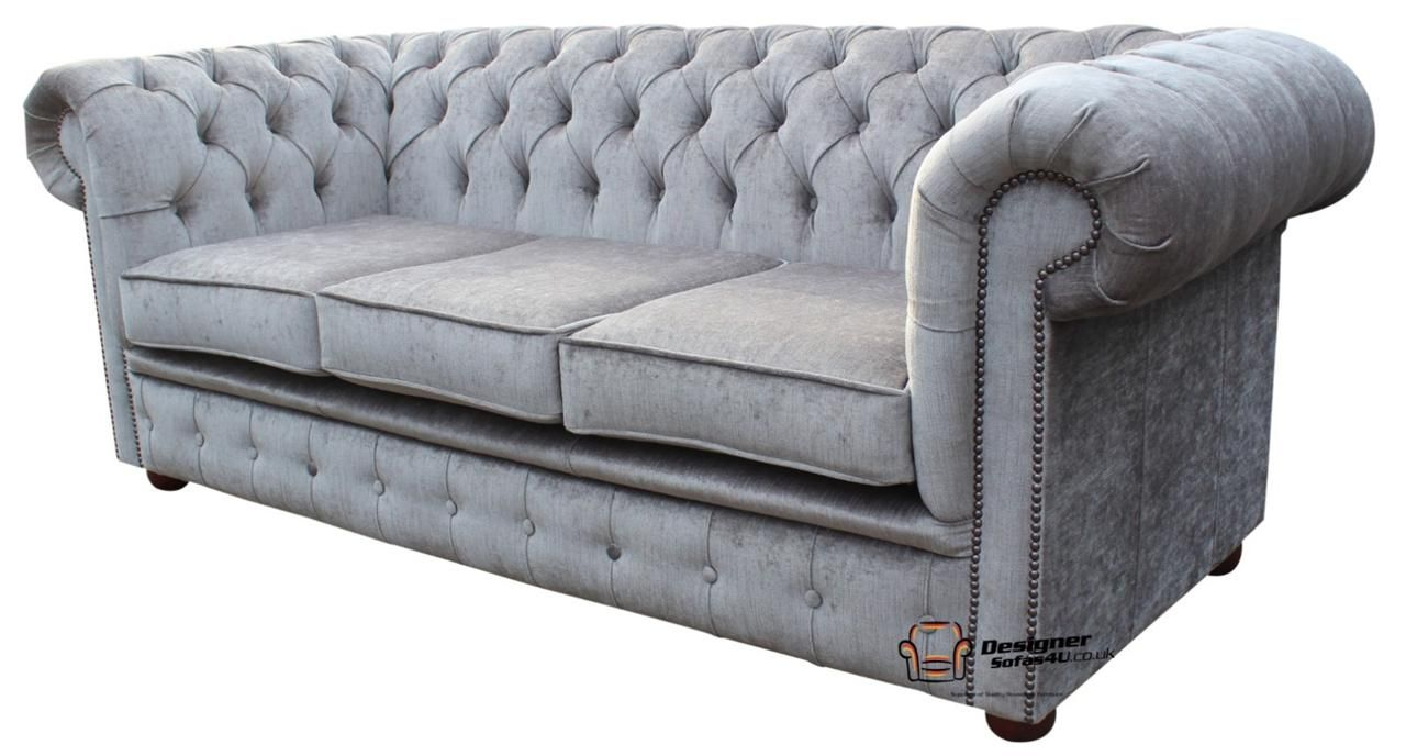 Chesterfield Ebay 519 Fabric Sofa Grey Fabric Sofa Fabric Sofa Uk