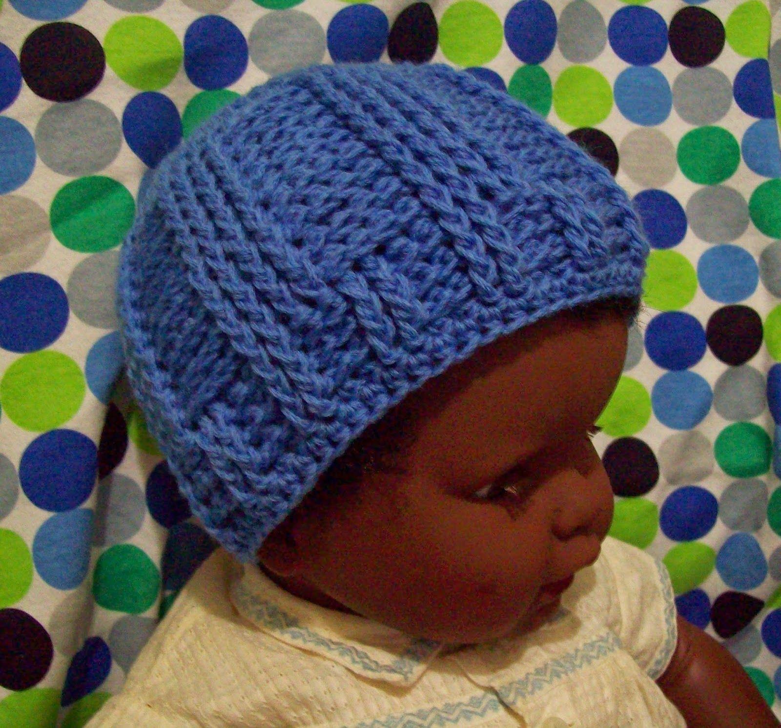 Baby Rails- A Free Crochet Pattern | Gorros de punto, Gorros y Ganchillo