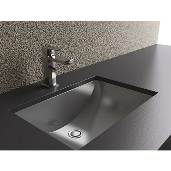 This Bathroom Undermount Sink By Cantrio Koncepts Has A