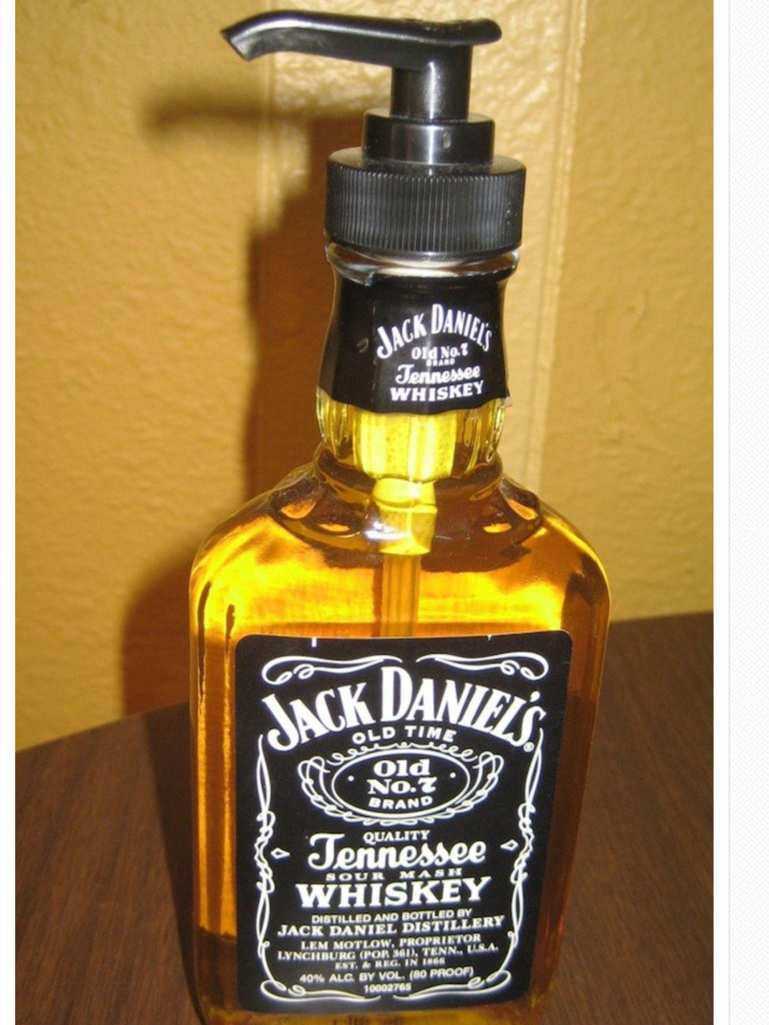 Gel de mãos garrafa de wisky | Diseño | Pinterest | Jack daniels ...