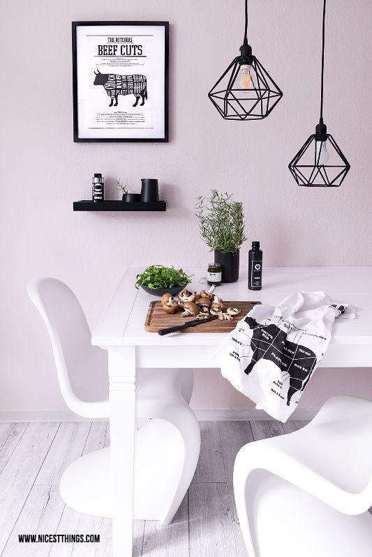 Küche: Esstisch-Makeover & Metall-Leuchten mit Philips SceneSwitch ...