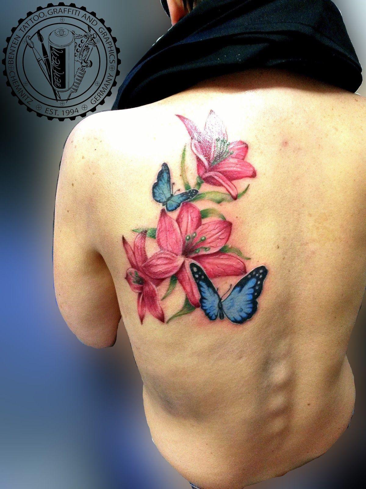 lilie tattoo --- Benten Tattoo Chemnitz. Der Tätowierer für Ihre ... - Tattoo Studio Chemnitz