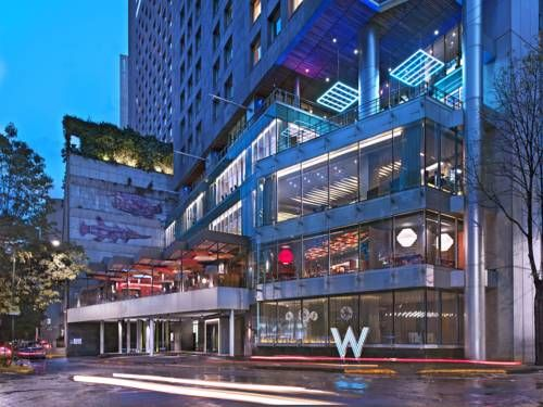 W Mexico City Mexico City Located In The Heart Of Downtown Mexico City This Luxury Boutique Hotel Provides Everything Needed F Downtown Mexico City Mexico City Best Hotels