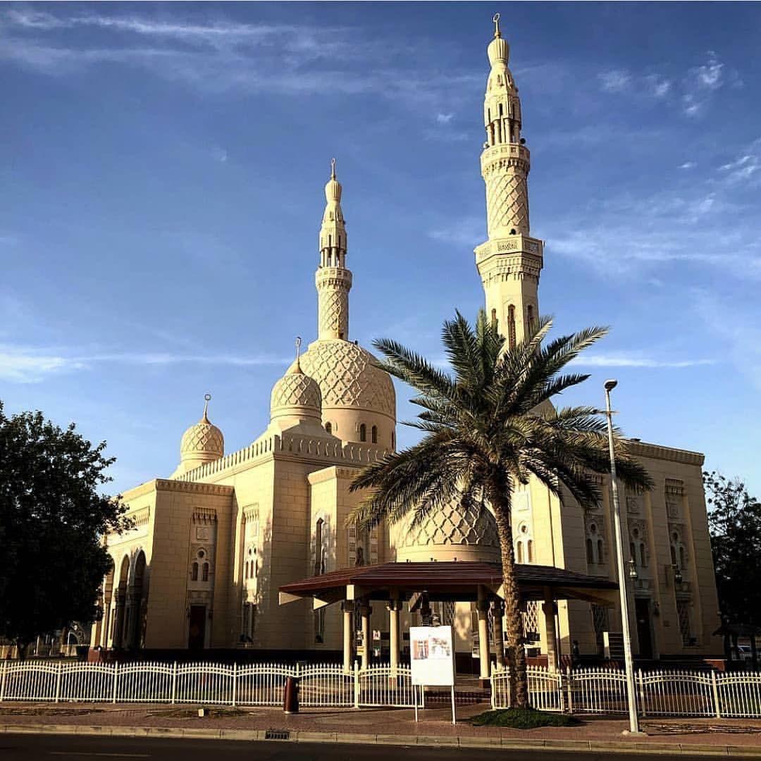 Jumeirah Mosque Location Dubai Uae