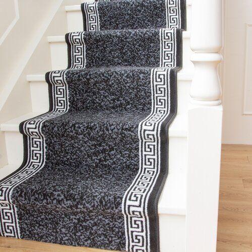 Teppich in Dunkelgrau/Cremeweiß Fairmont Park Teppichgröße: Läufer 80 x 1706 cm