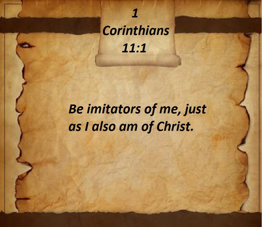 1 Corinthians 11:1 | Word of god, Revelation, Bible