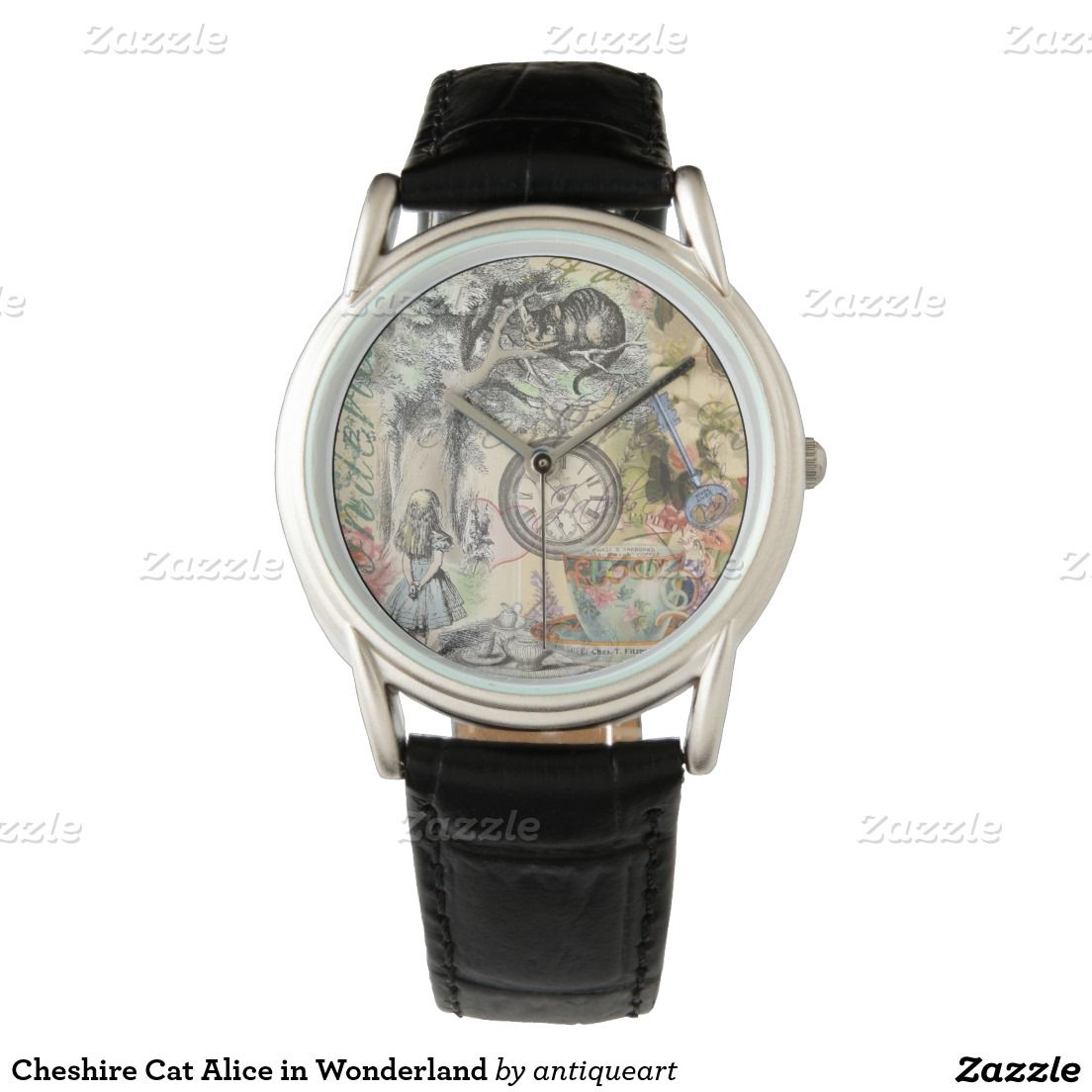 Cheshire Cat Alice in Wonderland Wrist Watches
