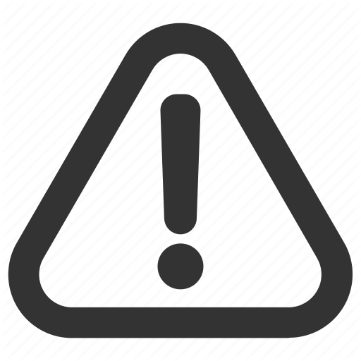 Alert Icon Exclamation Signs Security Triangle Exclamation Mark Warning Signaling Traffic Sign Da Trendy Logo Design Logo Design Logo Design Creative