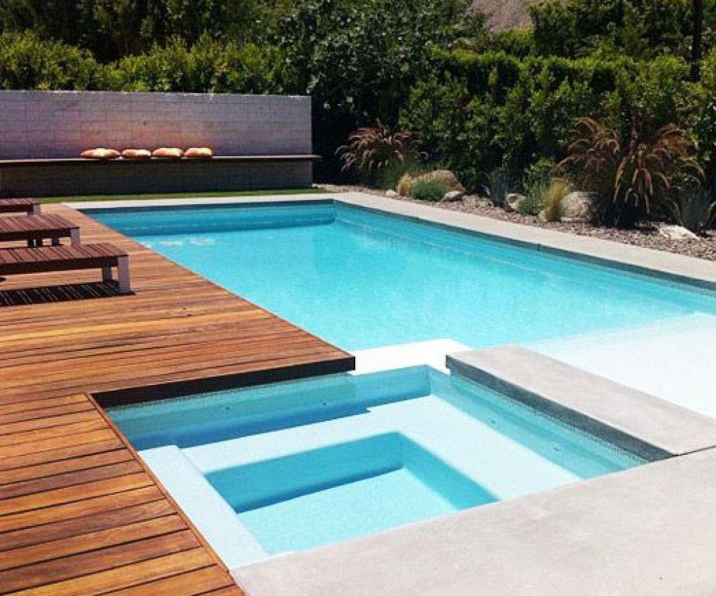 Square Swimming Pool Designs Backyard Swimming Pool Landscaping ...