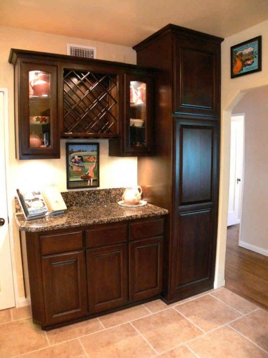Cabinet Decor Accents Wonderful Unfinished Corner Pantry Cabinet With Slide Out Cabinet Trays Also Recessed Panel Wine Bar Cabinet Bar Cabinet Wine Cabinets