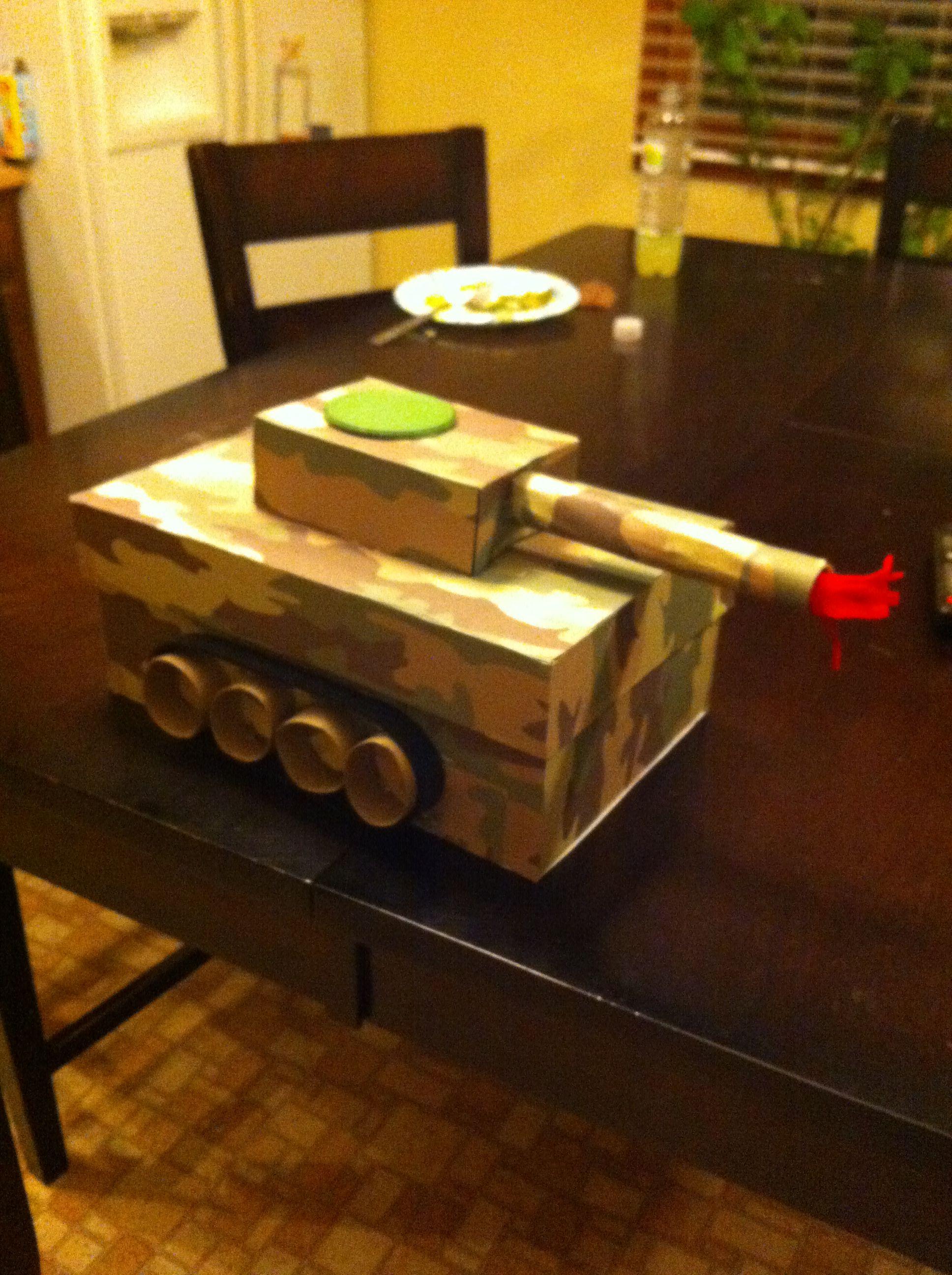 valentine box tank