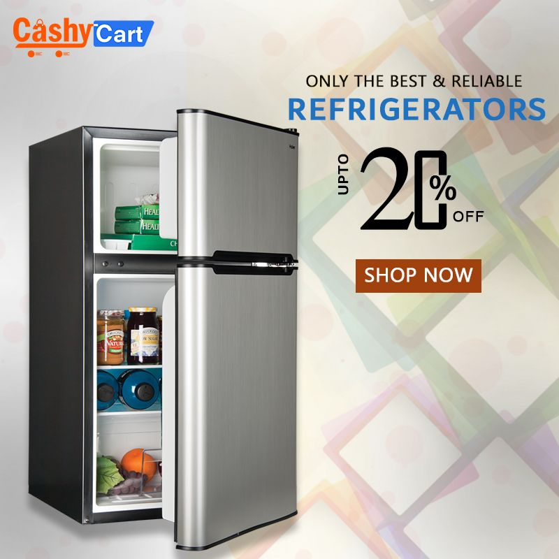 Fridges Freezers Lowest Prices In Pk Get 20 Off Only On Cashycart Com Large Fridge Large Appliances Online Shopping Stores