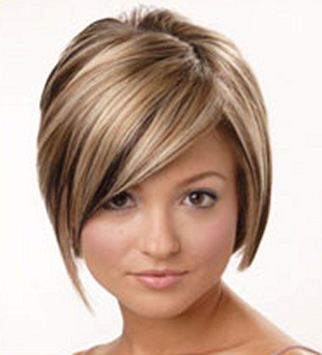 42 coiffures courtes visage rond # | Coiffure courte visage rond, Coiffure courte, Idées de ...