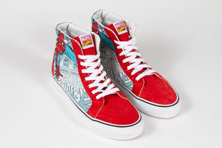 Marvel x Vans Classics 2013 Spring Collection | Marvel shoes