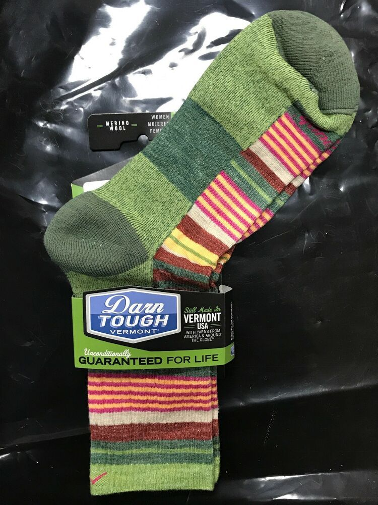 Darn Tough Socks Womens Large Merino Wool Hike/Trek