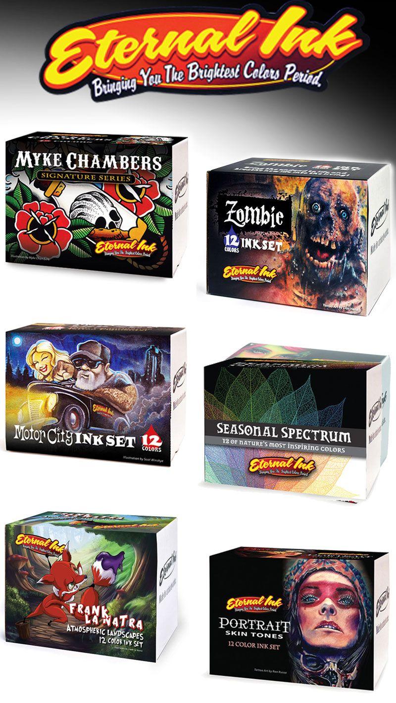 E T E R N A L Ink Sets These Sets Have Been Developed In