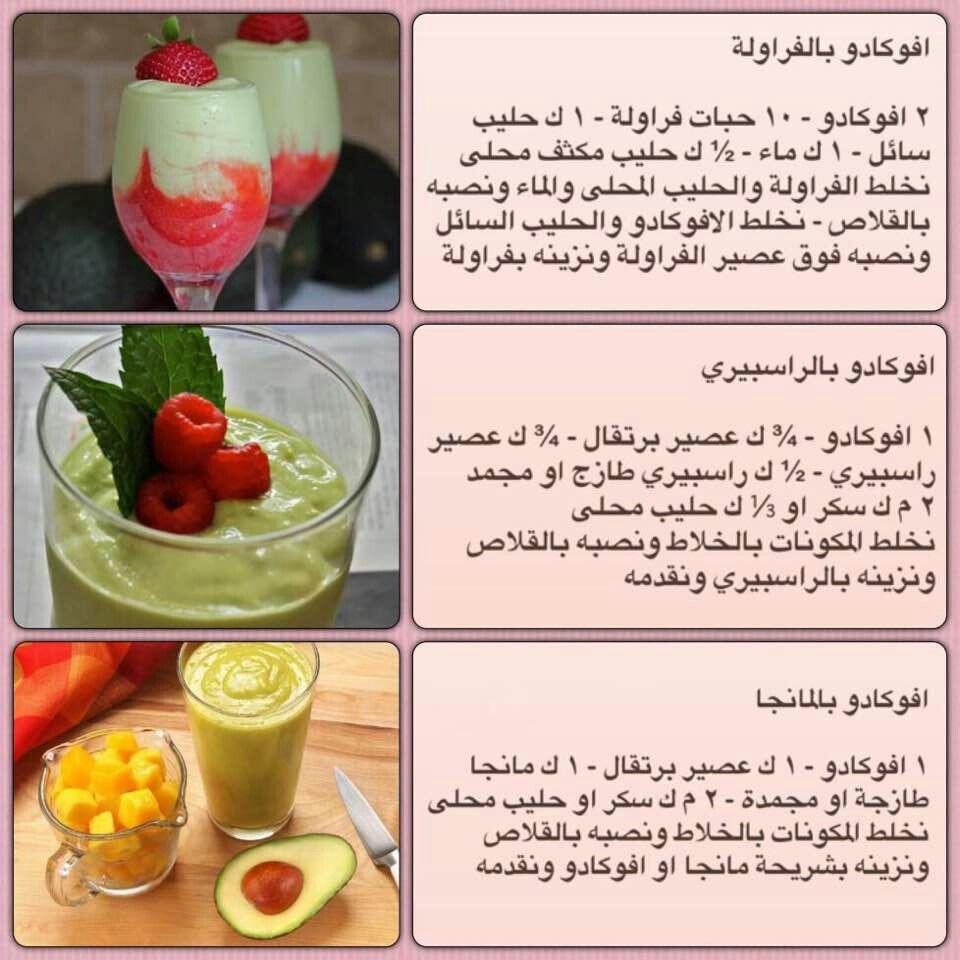 عصير افكادو Coffee Drink Recipes Coffee Recipes Hot Smoothie Flavors