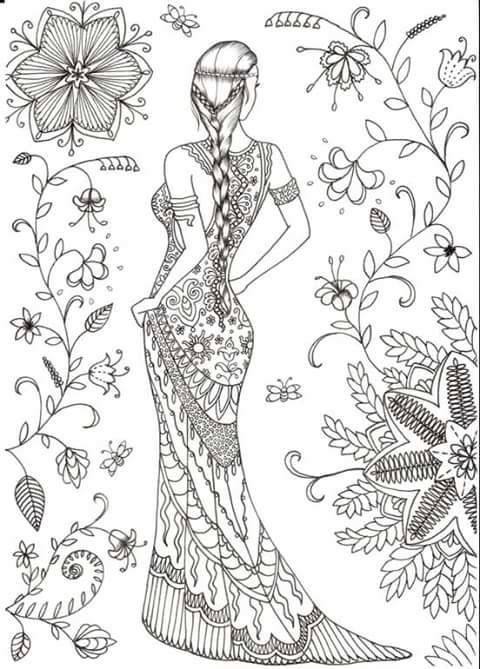Coloriage Ado Adulte Colouring Book Coloring Pages Coloring