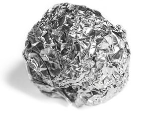 Aluminum Foil Grill Cleaner Recipe With Images Homemade Fabric Softener Dryer Sheets Dryer Balls