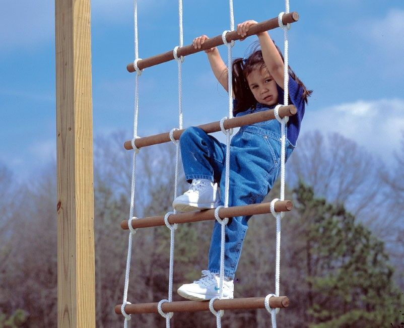 """PlaysetParts.com - Rope Ladder - 36"""" Wide, $89.95 (http://www.playsetparts.com/rope-ladder-36-wide/)"""