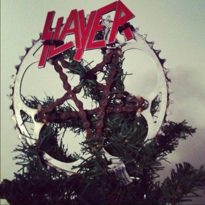 Hawaiian Christmas Tree Topper: Metal Tree Wall Art, Metal Tree