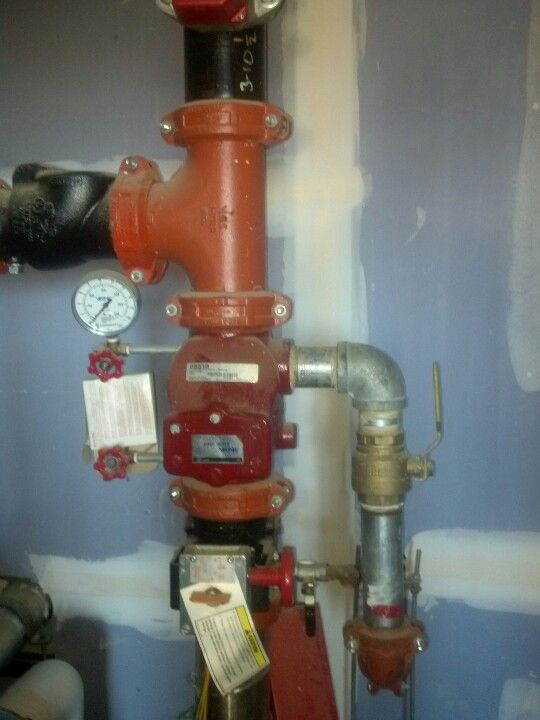 Riser for fire protection system | Fire Protection | Fire