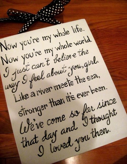 Download I thought I loved you then...beautiful country song lyrics ...