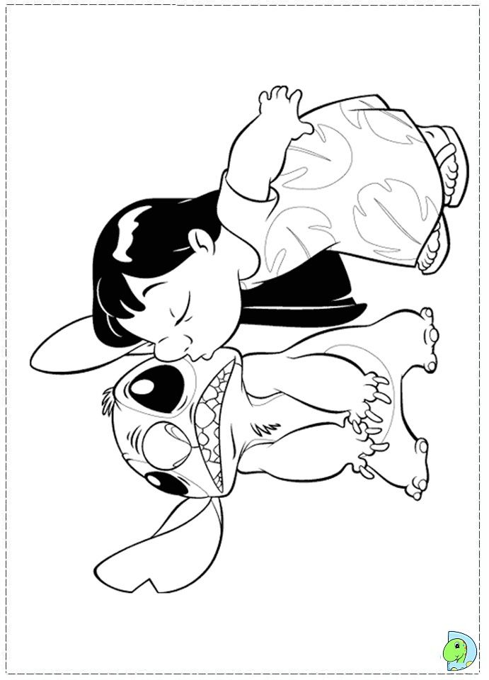 coloriage lilo et stitch | coloring pages | Pinterest | Colorear ...