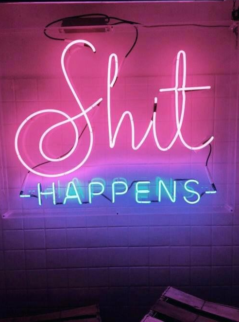 Neon Light Wall Art Perfect About Remodel With Signs 500x667