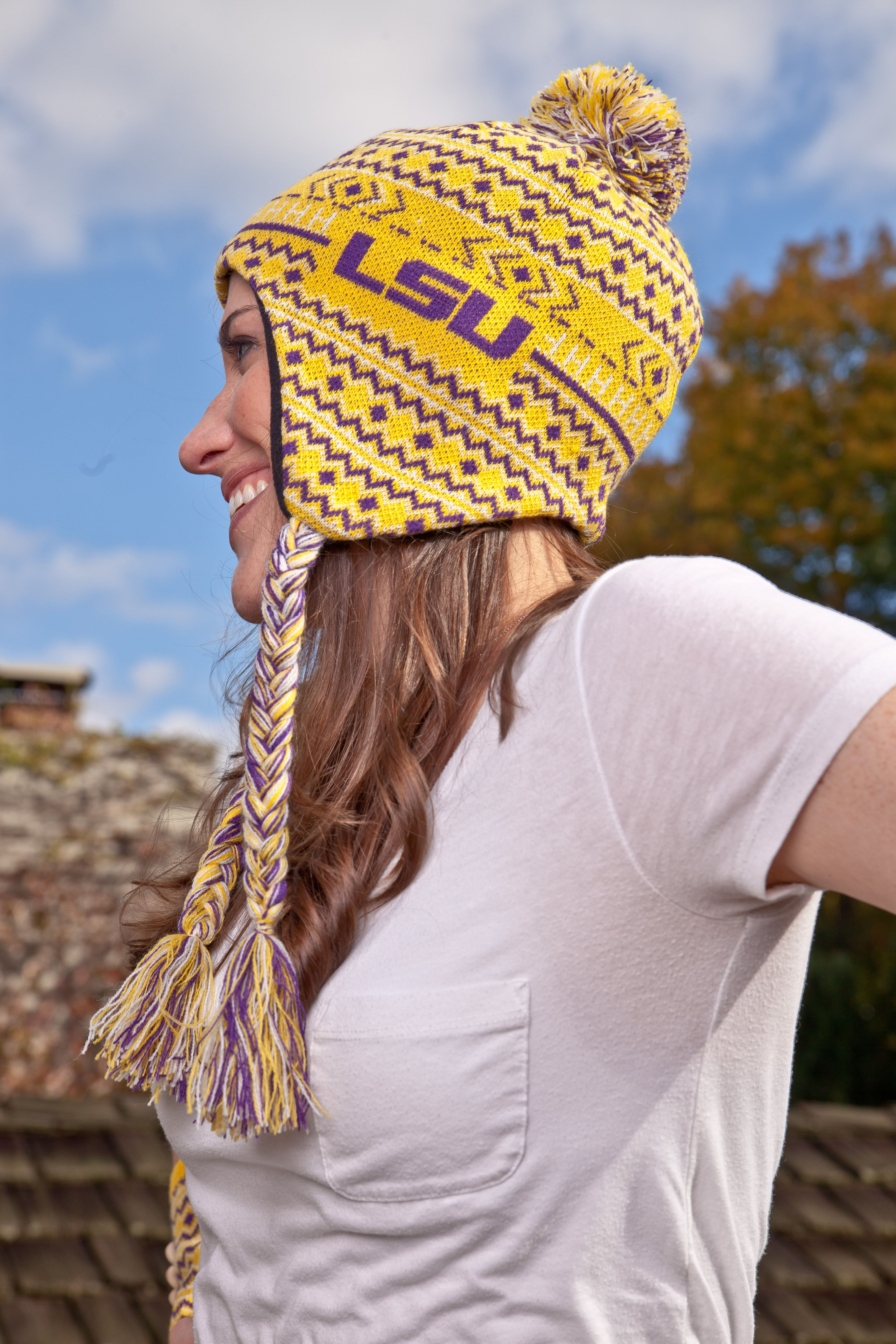 d18eb213d0893 Our LSU knit winter hat is a favorite among Tigers fans. Perfect holiday  gift for him or her.  19.99