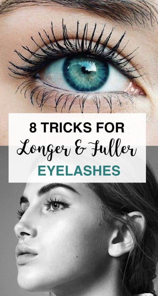 a9c2c2e3c65 8 Tricks for Longer Eyelashes | Makeup | Longer eyelashes, Beauty ...
