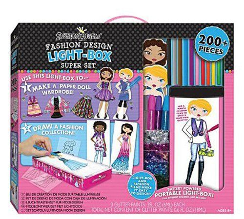 Travel Lightbox Fashion Design Super Set By Fashion Angels Http Www Amazon Com Dp B003hs5k3y Ref Cm Sw R Pi Dp Njttqb1ccr Paper Dolls Super Sets Girly Gifts