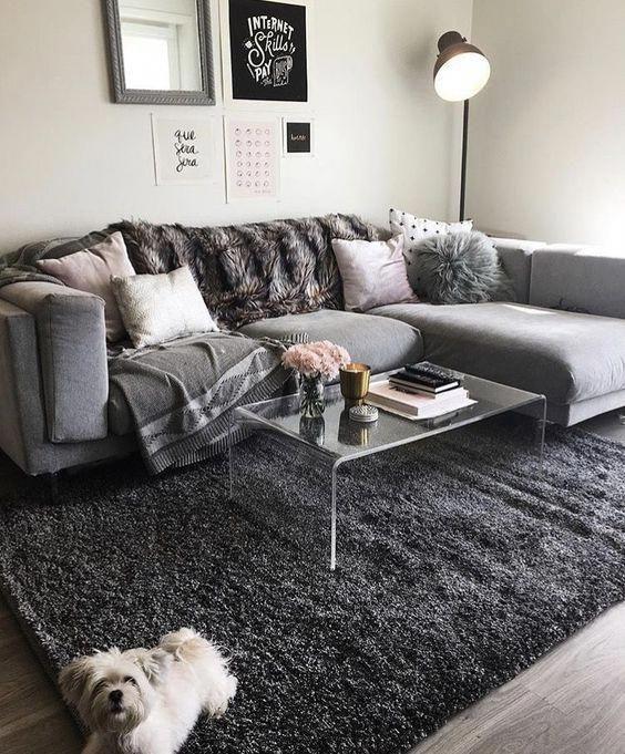 Photo of idee arredamento per soggiorno blu #Homedecorapartment