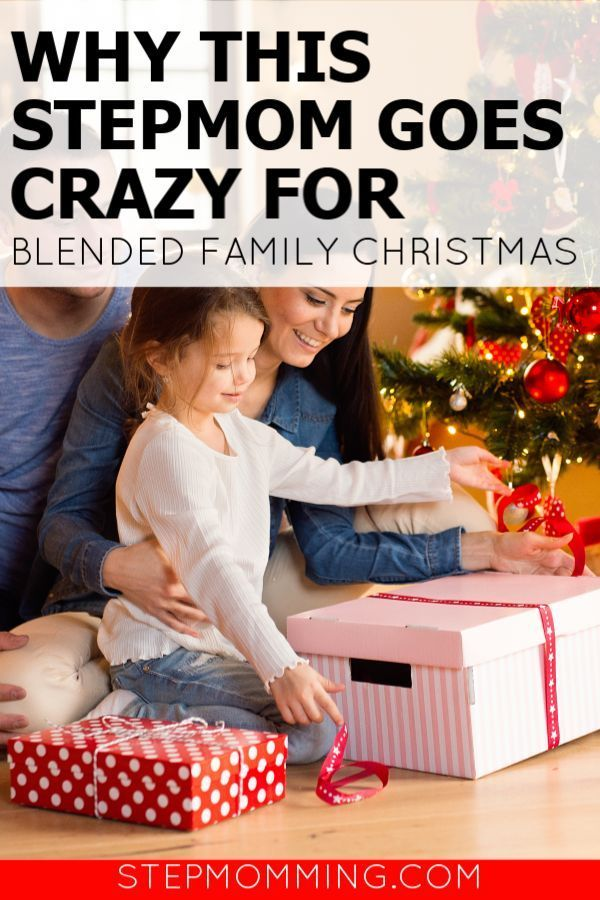 Why This Stepmom is Crazy For Blended Family Christmas