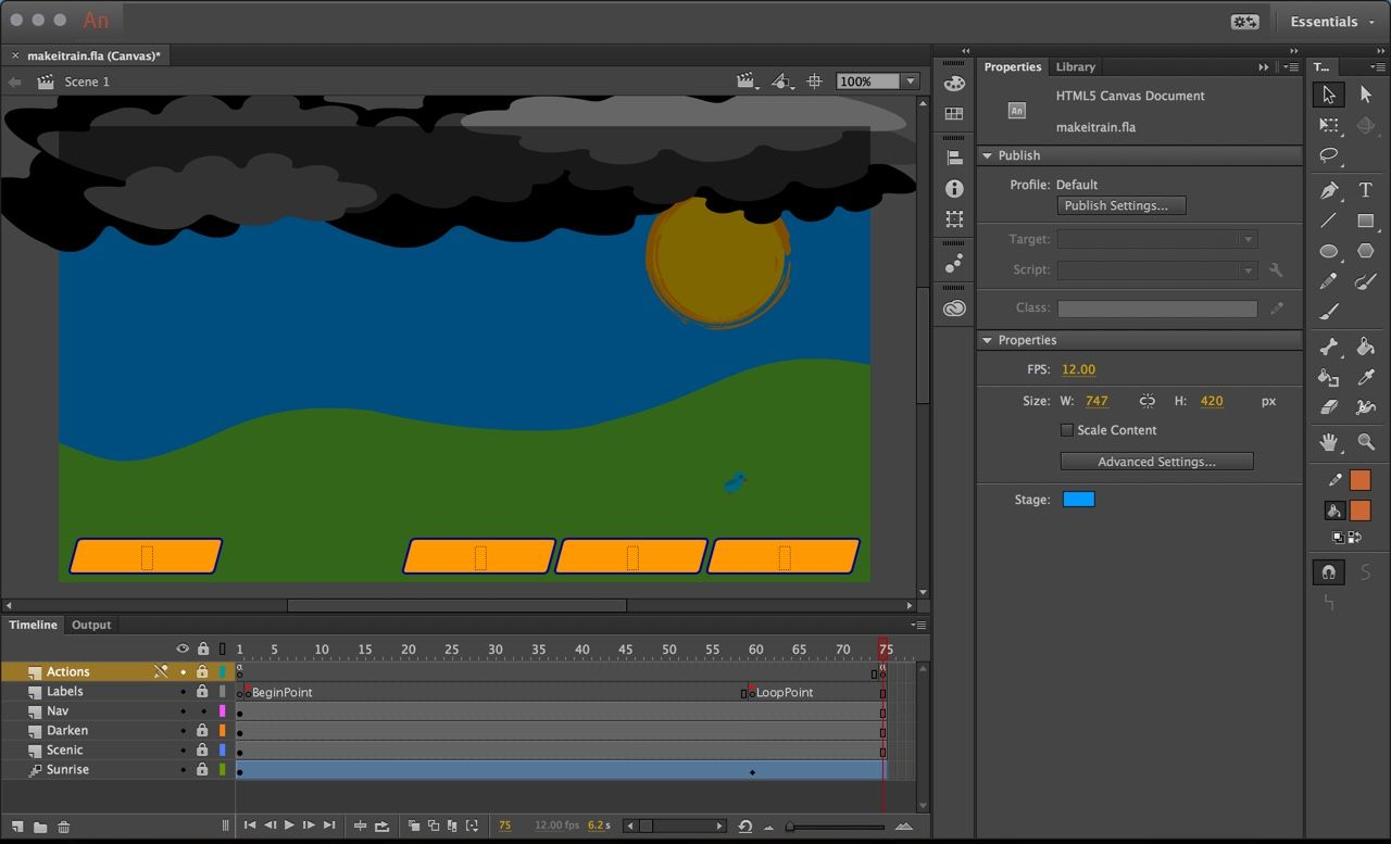 Using html5 canvas in animate cc javascript basics html5 canvas using html5 canvas in animate cc javascript basics baditri Gallery