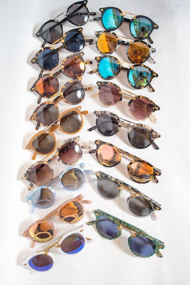 Put Your Prescription In Krewe Gles Over A Dozen Mirror Lens Options St Louis Sungles Mirrored Round Rose Gold Sky Blue