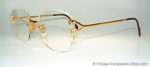 cartier rimless eyeglasses - Google Search WANT ...