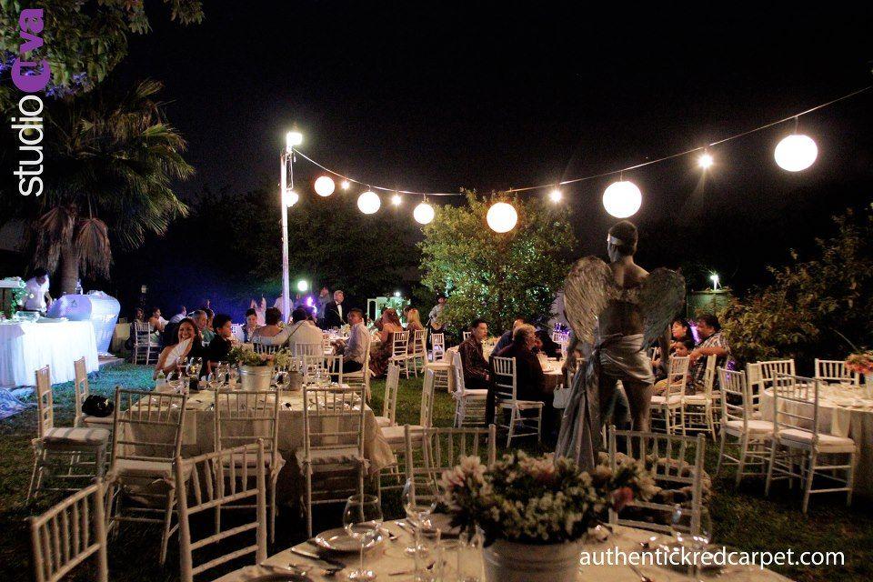 Juega con La iluminacion amarilla vintage y la contemporanea - iluminacion jardin