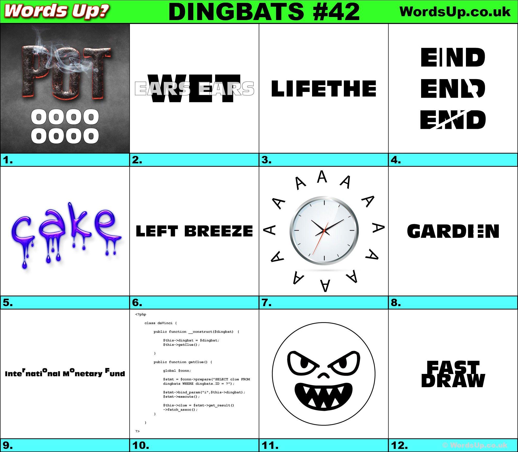 Printable Dingbats 42