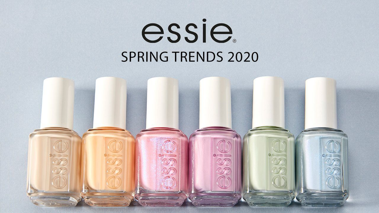 Essie Spring 2020 Has All The Pastel Nail Colors We Need In 2020