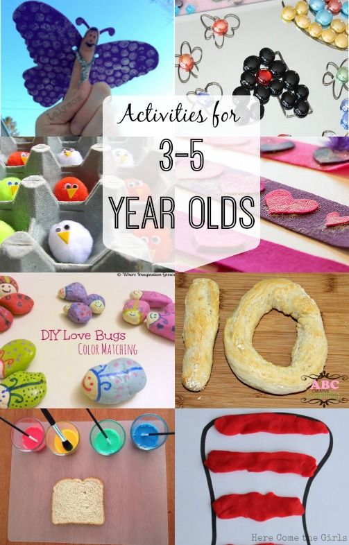 Activities For 3 5 Year Olds Nannying Munchkins
